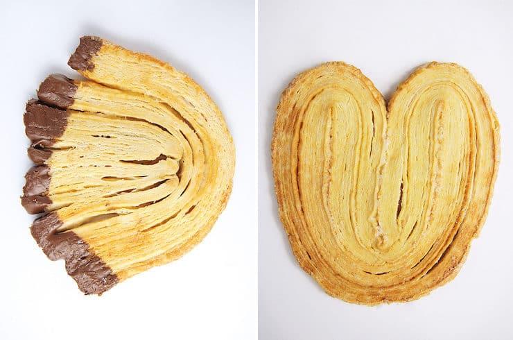 Oreja, Abanico, Manoplas, or Palmeras pan dulce sweet bread