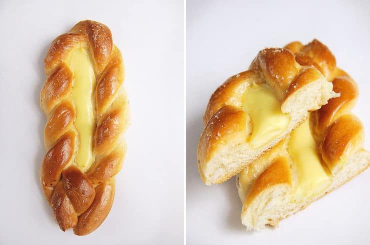 Trenza Danes Danish pastry Mexican sweet bread pan dulce