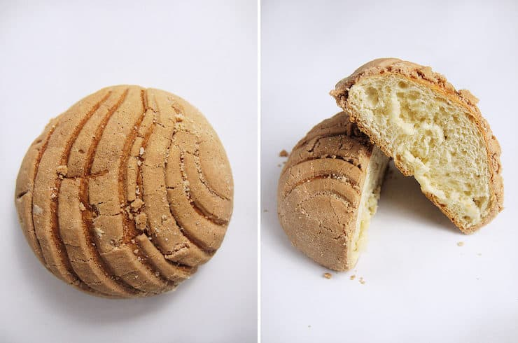chocolate conchas Mexican sweet bread pan dulce