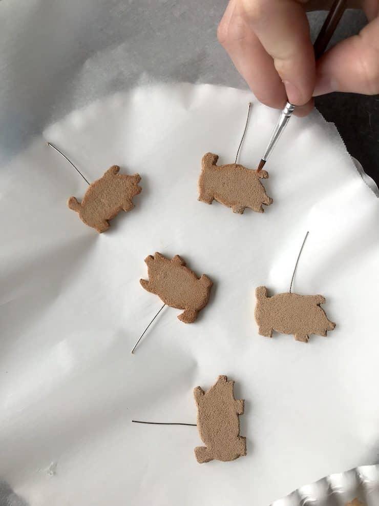 clay mini marranitos