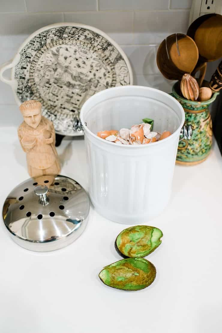 How to Compost at Home compost pail bucket