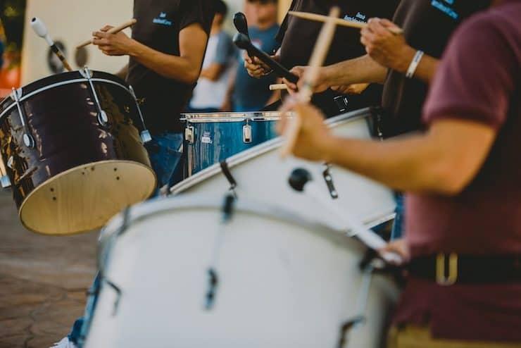 matachines drummers