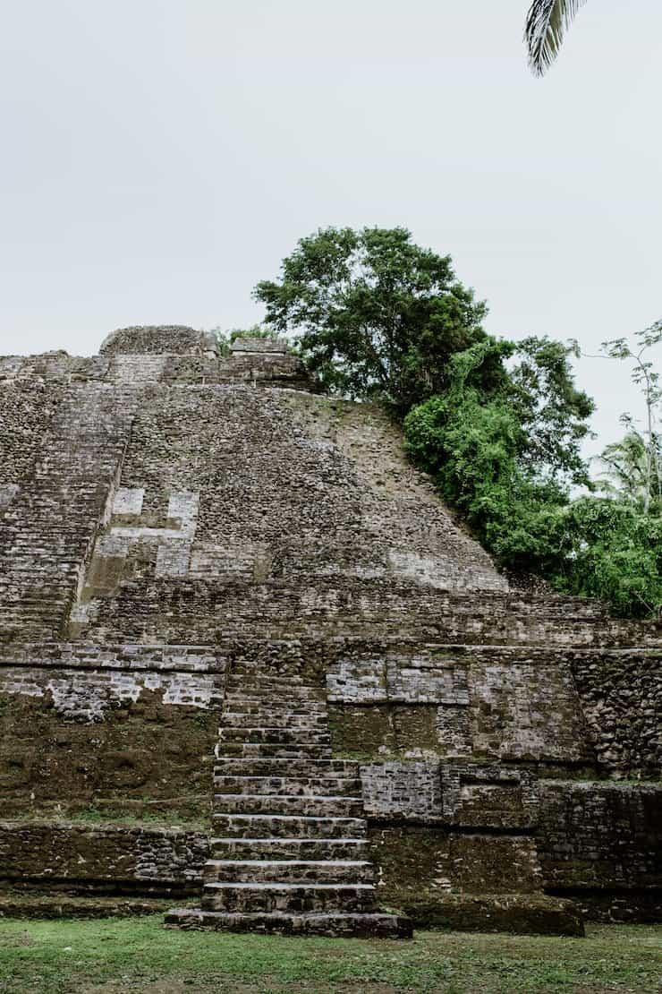 mayan temple belize Western Caribbean Cruise