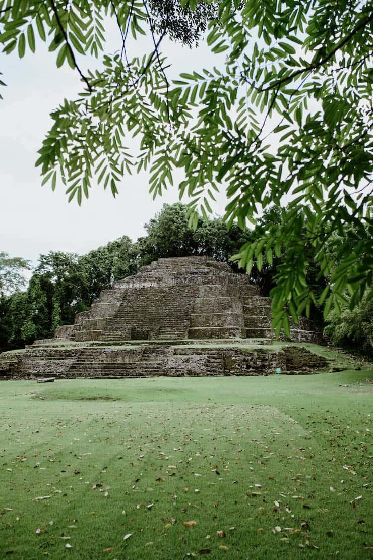 Western Caribbean Cruise Belize temple