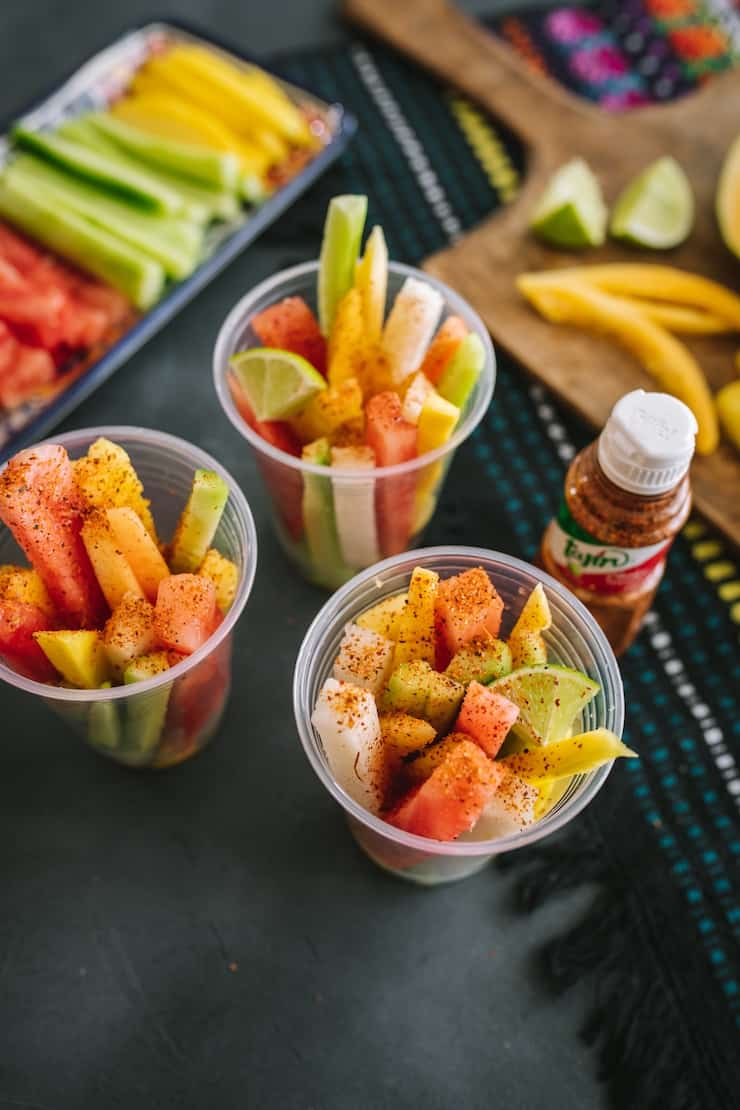 make Mexican fruit cups at home