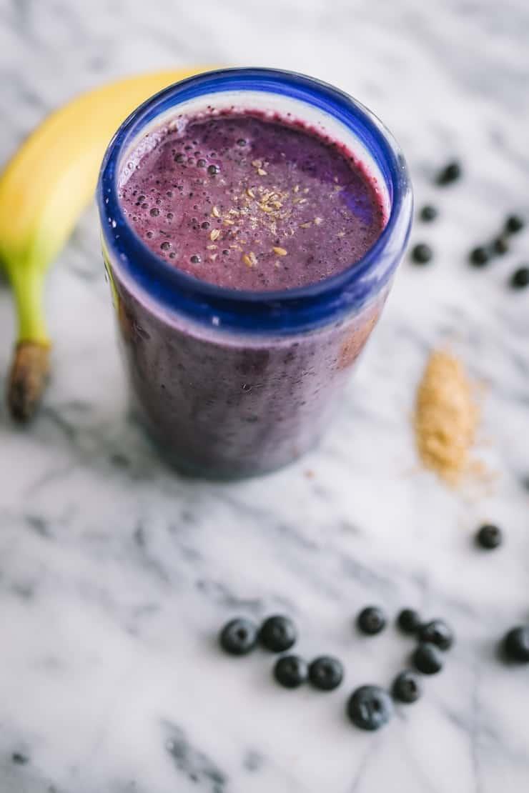 blueberry banana smoothie Frozen Smoothie Packs