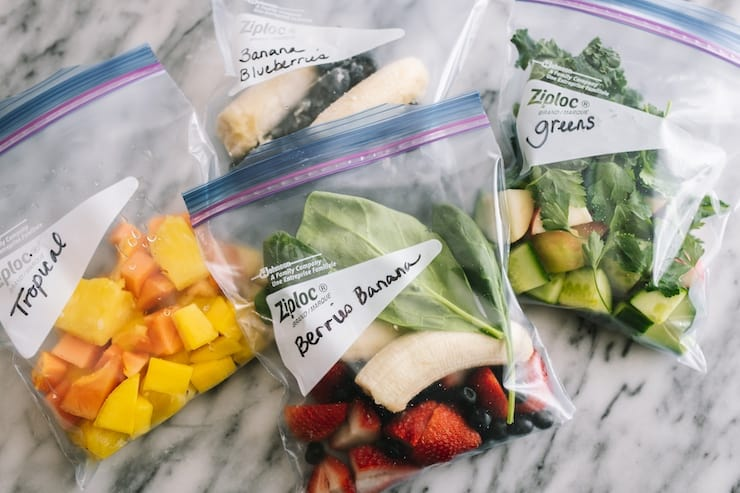 Smoothie Freezer Pack Recipes