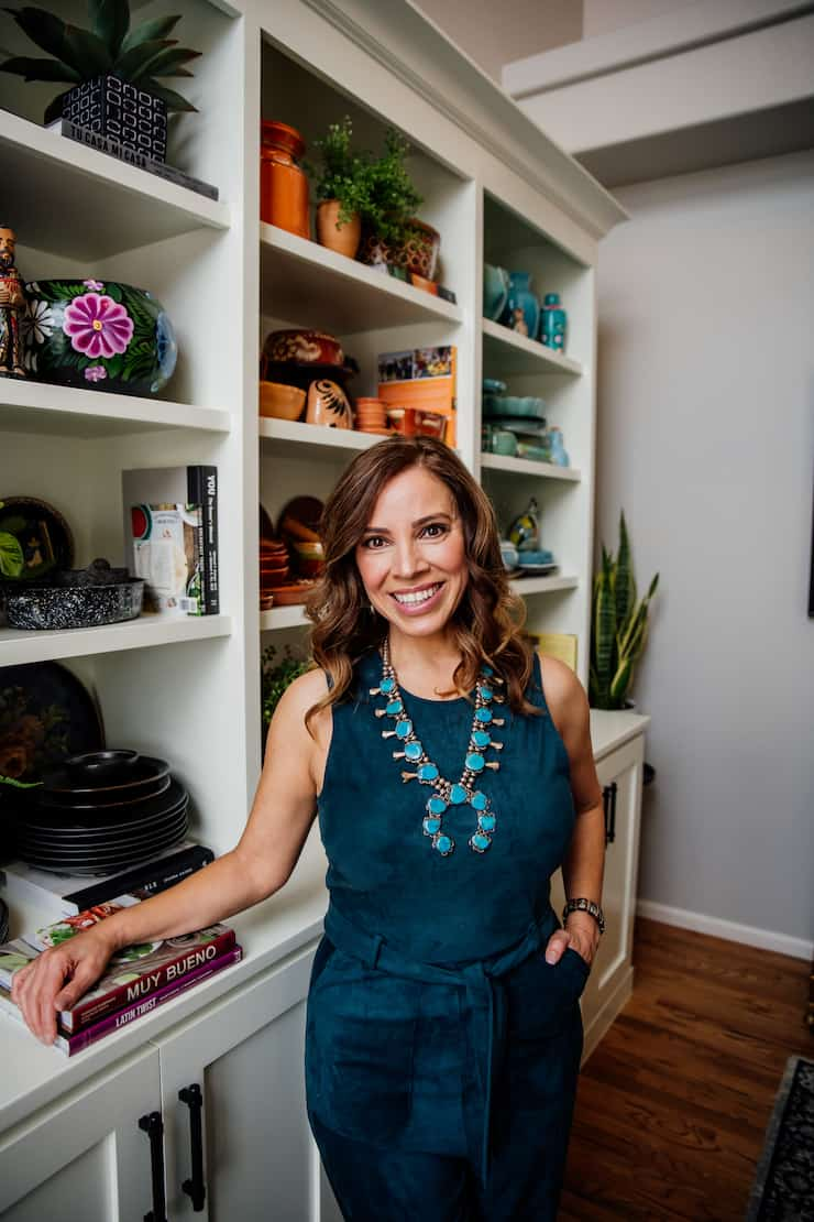 Yvette Marquez Latina food lifestyle blogger Double-Duty Office Studio and Dining Room