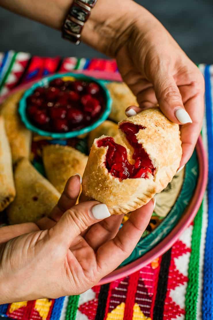 Cherry Empanadas (Cherry Hand Pies)