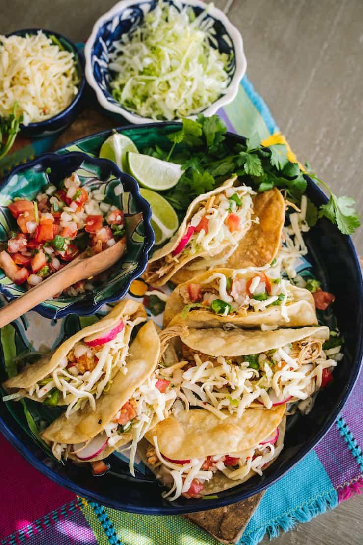 Crispy Chicken Tacos Muy Bueno Cookbook