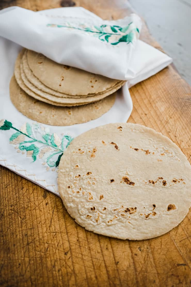 Homemade Corn Tortillas Video Muy Bueno Cookbook