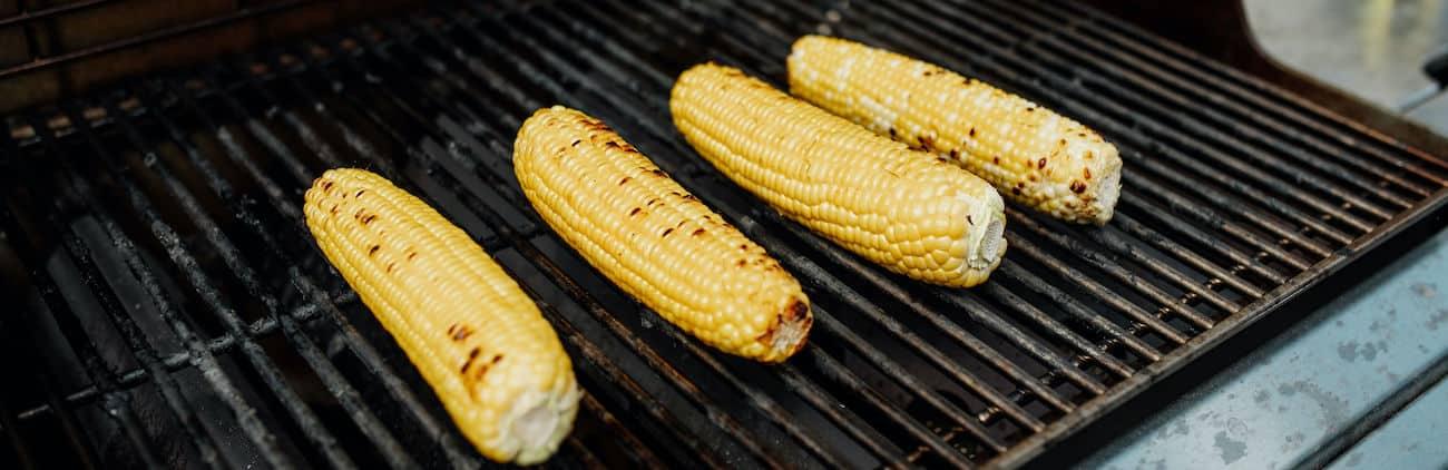 Grilling corn recipe banner