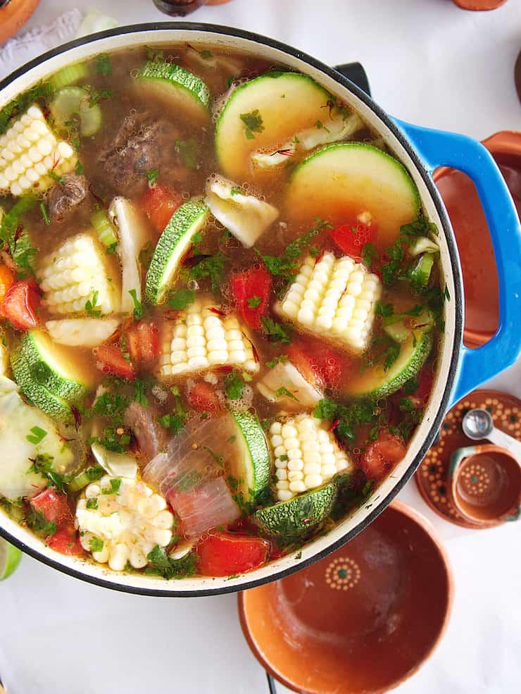 Caldo De Res Vegetable Beef Soup Video Muy Bueno Cookbook