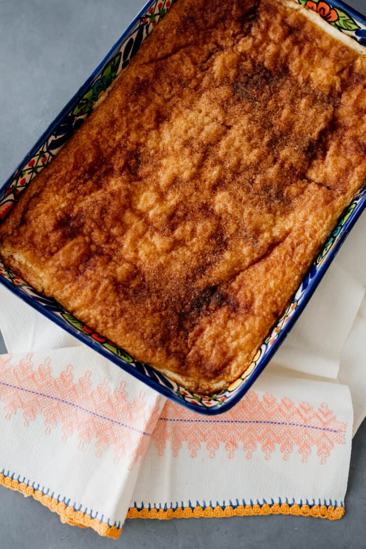 baked Sopapillas Cheesecake Bars